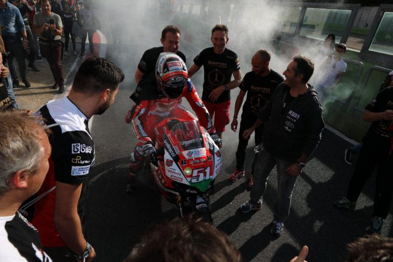 Микеле Пирро - чемпион CIV Superbike 2018