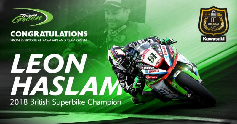 Леон Хэзлам - чемпион British Superbike 2018