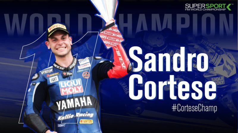 Сандро Кортезе - чемпион World Supersport 2018