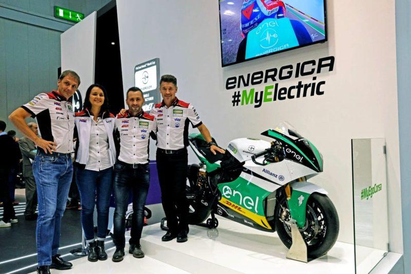 Команда LCR Honda и Energica Ego Corsa 2019 (EICMA, 2018)
