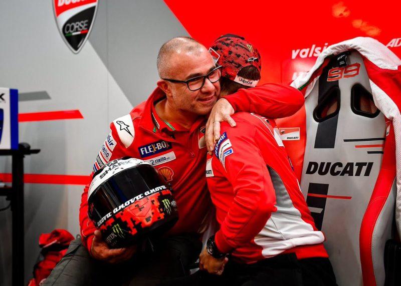 Хорхе Лоренсо прощается с Ducati (Рикардо Тормо, 2018)