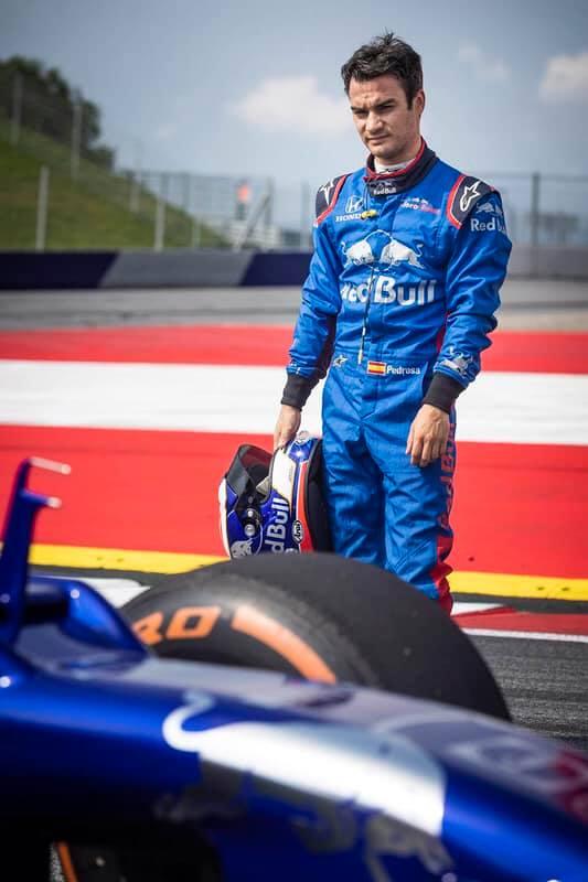 Дани Педроса и Red Bull RB8