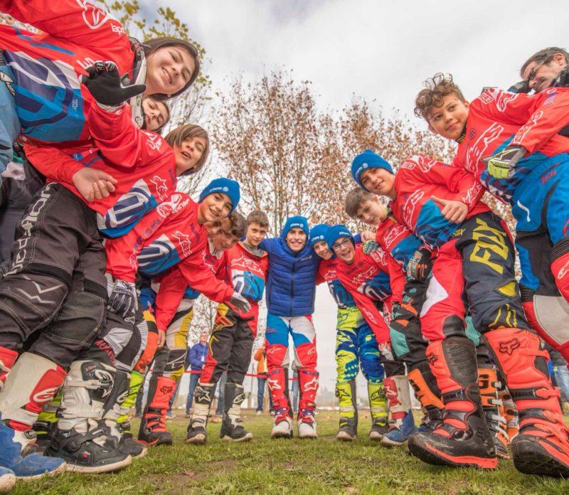 Марк Маркес и ученики Allianz Junior Motor Camp
