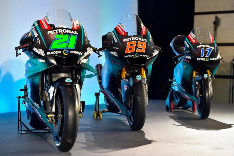 Мотоциклы команд Petronas SRT 2019