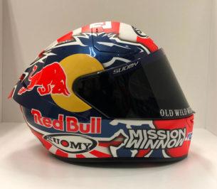 Шлем Андреа Довициозо для сезона MotoGP 2019