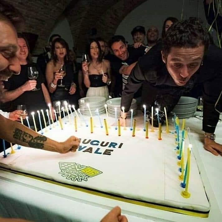 40-й день рождения Валентино Росси