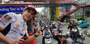 Марк Маркес в Бандунге (Индонезия, 2019)