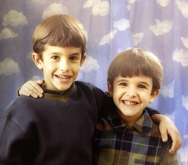 Детское фото братьев Маркесов