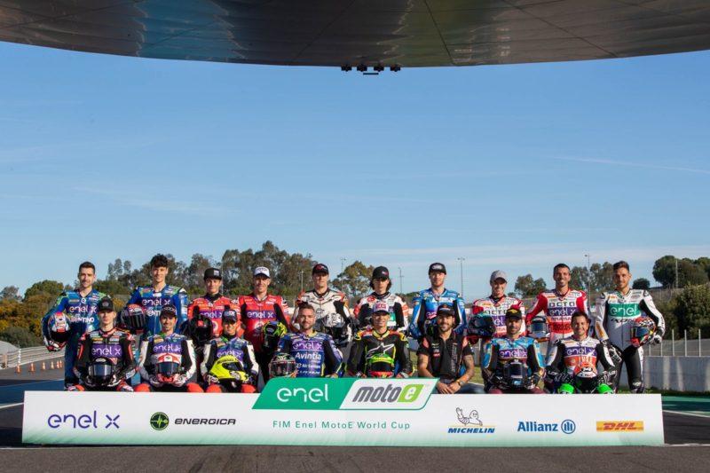 Гонщики кубка MotoE 2019