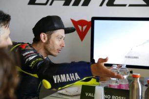 Валентино Росси на Dainese Riding Master (Мизано, 2019)