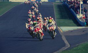 Первая гонка WSBK (Донингтон, 1988)
