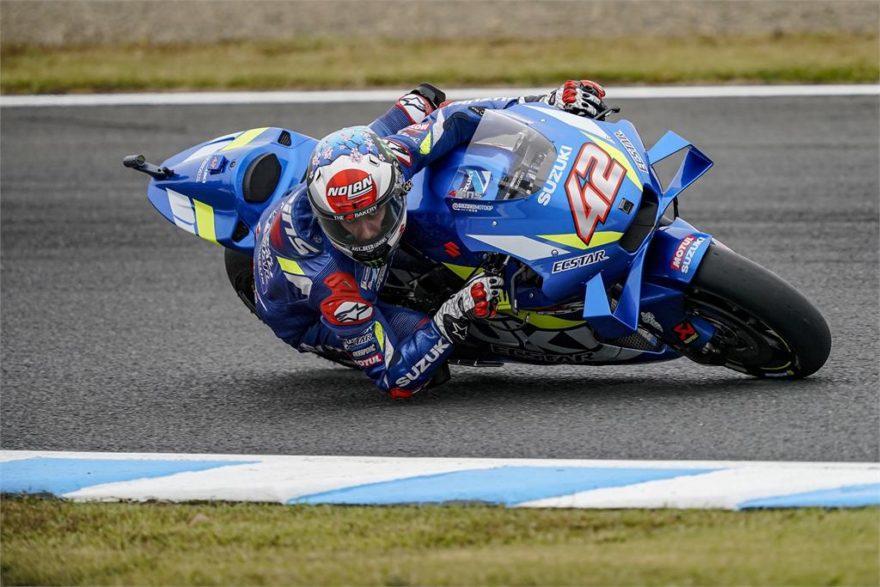 Алекс Ринс, пилот Suzuki Ecstar, MotoGP 2019