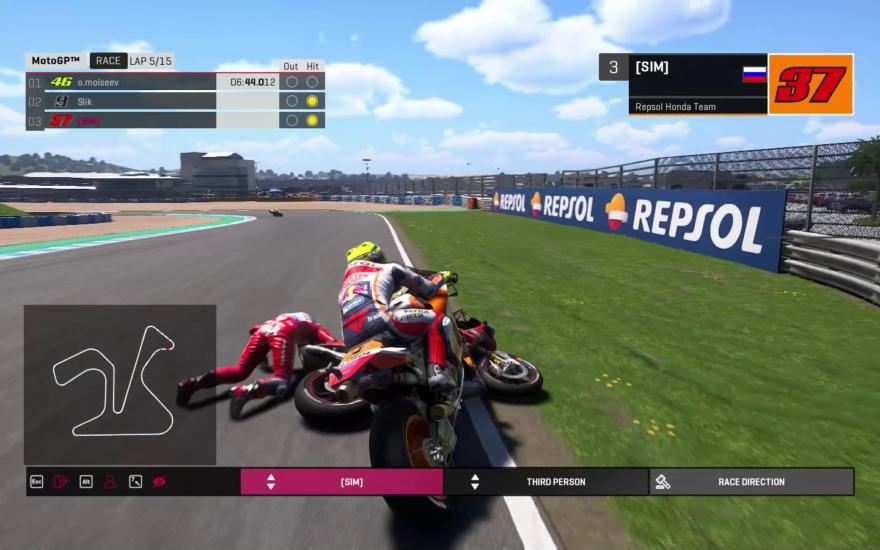 Онлайн-турнир «Всё о мире MotoGP» 2020: Гран-При Испании (видео)