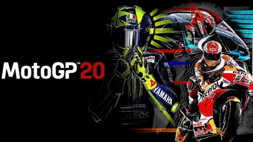 постер игры MotoGP 20