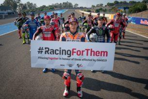 #RacingForThem, MotoGP 2020