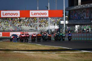 Старт гонки MotoGP ГП Сан-Марино 2020, Мизано