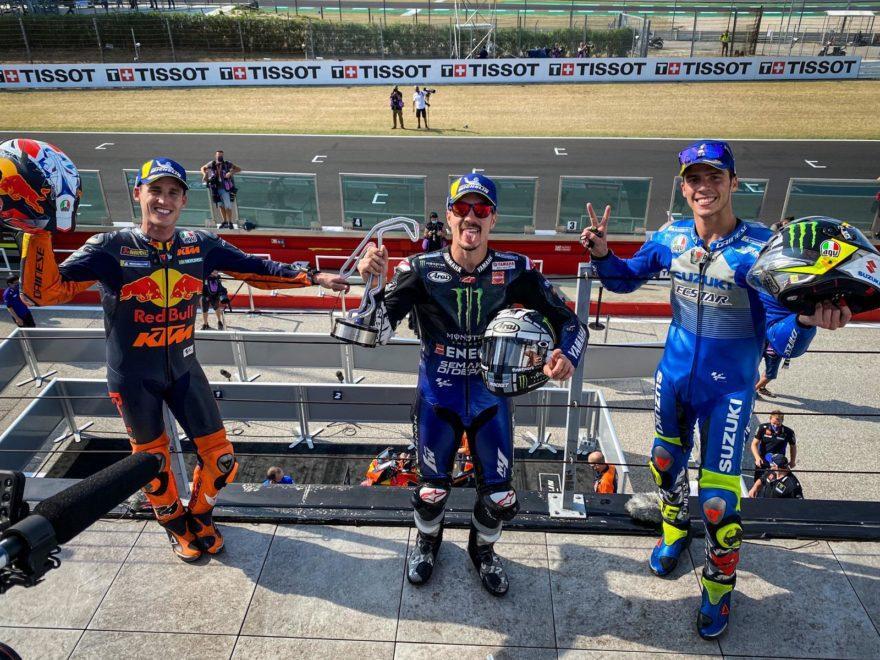 ГП Эмилии-Романьи 2020: подиум MotoGP