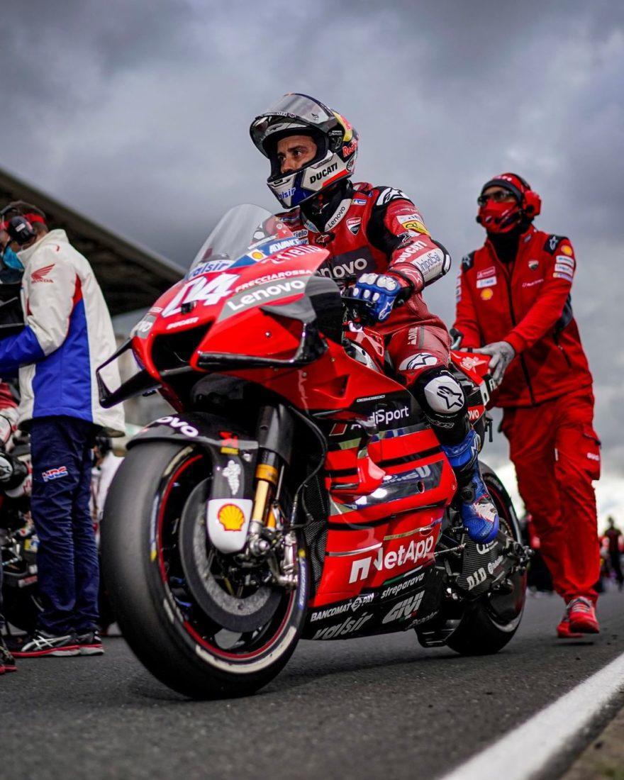 Довициозо думает судиться с Ducati?
