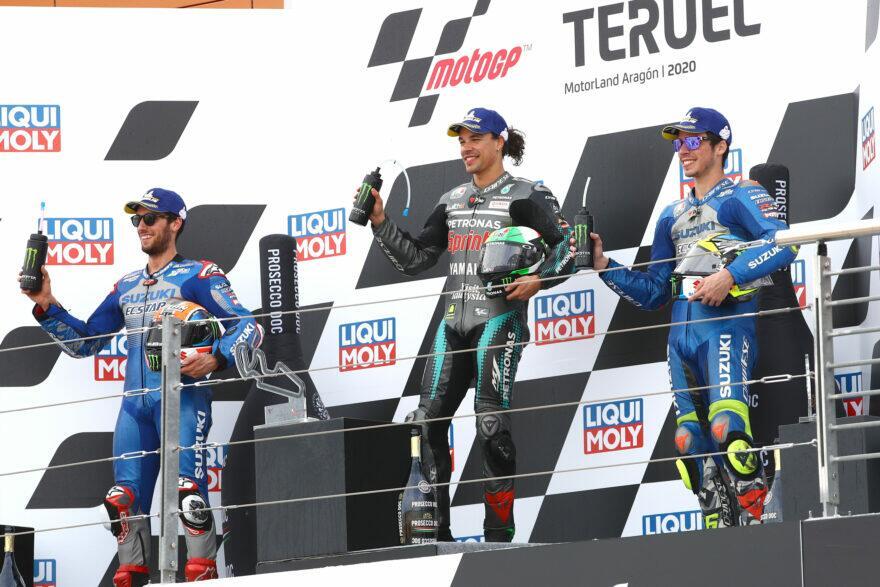 Морбиделли (1 место): Вчера я вдалеке, а сегодня — «чемпион» Yamaha!