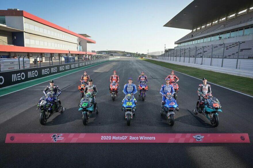 #фотоGP: семейный портрет со всеми победителями MotoGP 2020