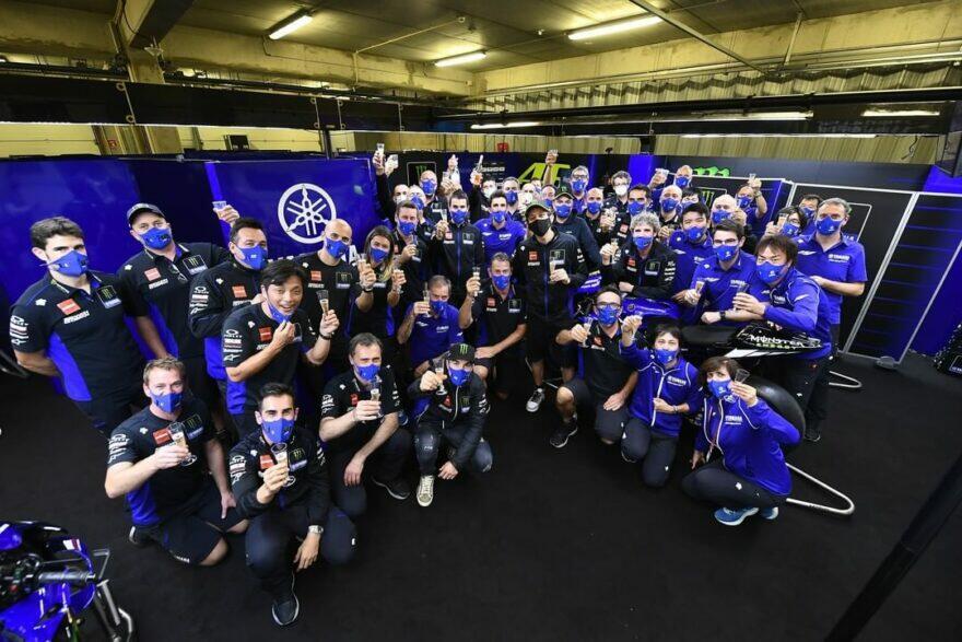 Росси (12 место): 15 лет карьеры и жизни прошли в заводском гараже Yamaha…