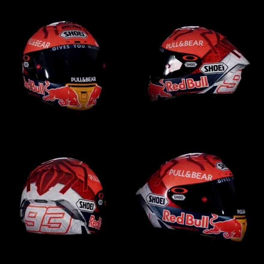 #фотоGP: нетерпеливый М. Маркес раскрыл ливрею шлема-2021