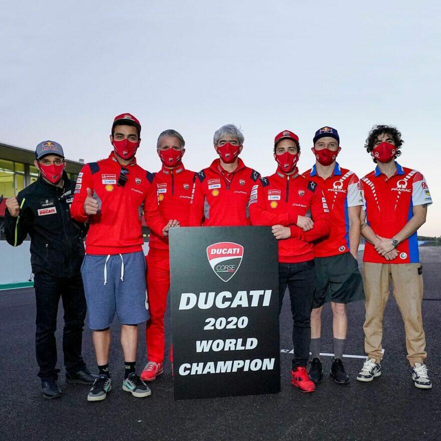 Даллинья: Титул конструкторов доказывает добротность новшеств Ducati