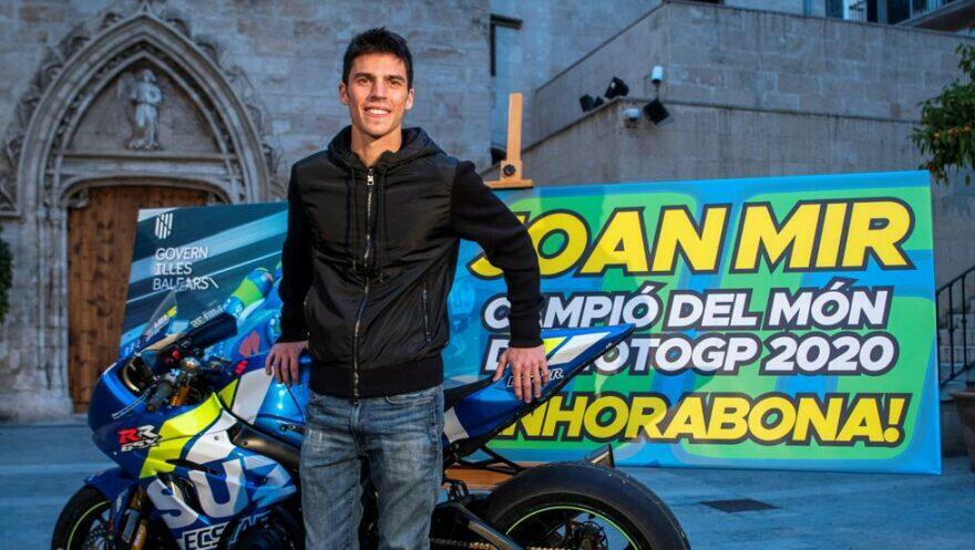 Майорка и Мир скромно отпраздновали титул MotoGP