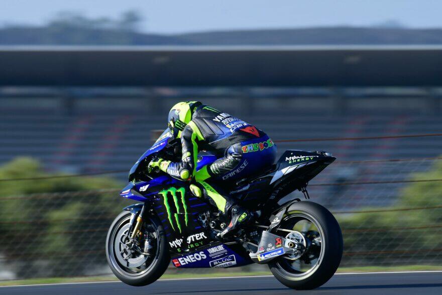 Салуччи: Yamaha будет обновлять М1 Росси с задержкой в 3 Гран-При