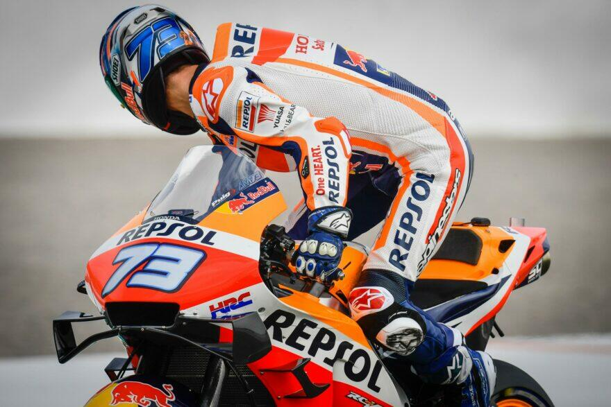 А. Маркес (16 место): Хотел финишировать, несмотря на боль