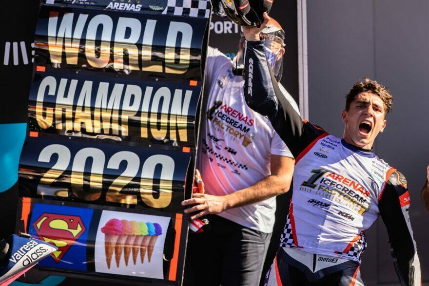 Чемпион Moto3 Аренас: Я уже в Moto2, до Ринса в MotoGP всего шаг