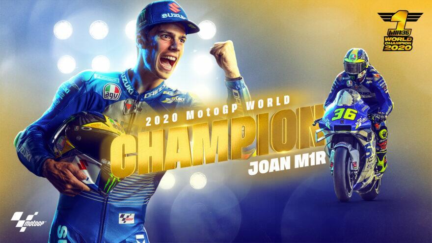 Жоан Мир – чемпион MotoGP 2020