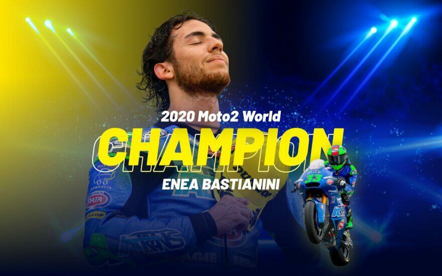 Эния Бастианини –Чемпион Мира Moto2 2020