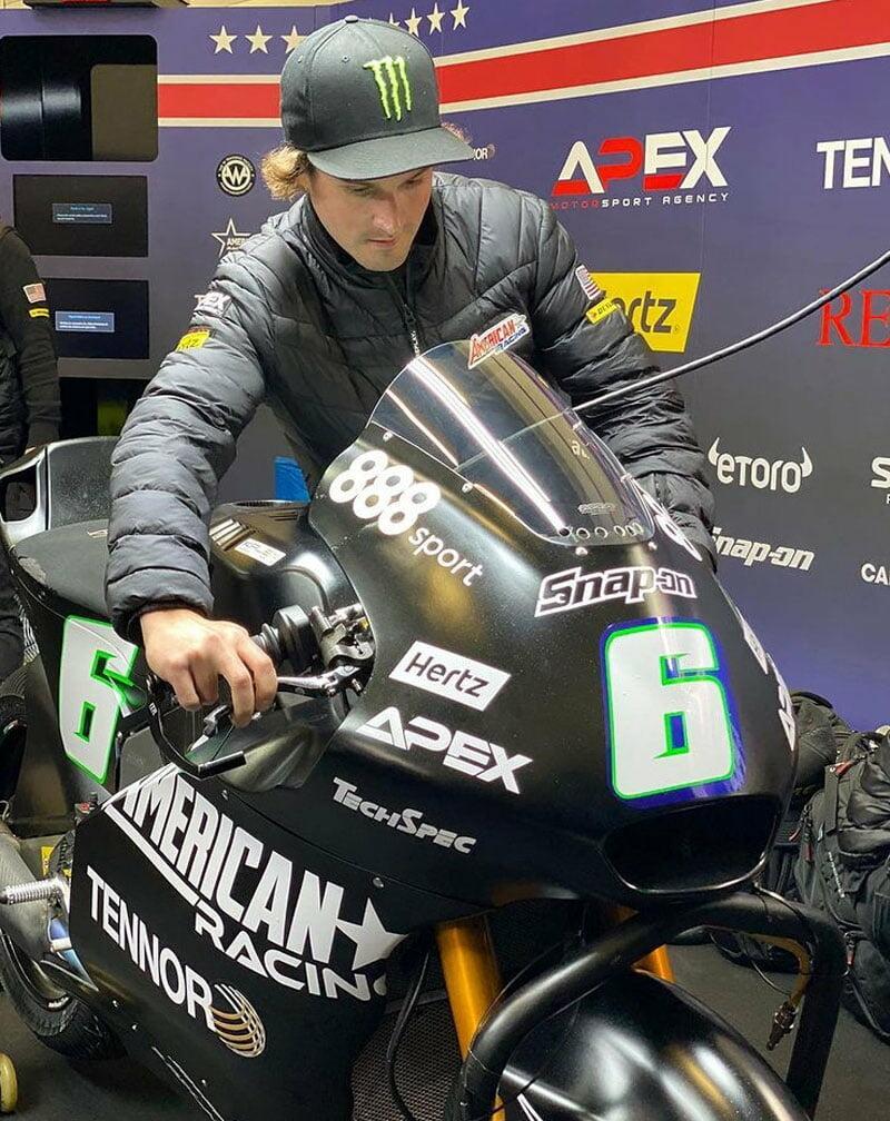 Маркос Рамирес захватил 1 строчку на тестах Moto2 в Хересе