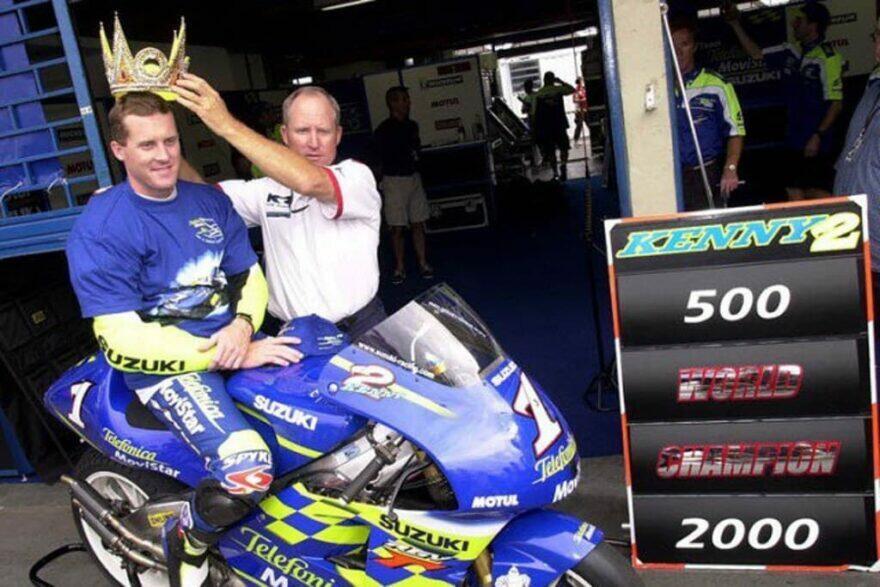 #фотоGP: чемпионская единичка на Suzuki 20 лет спустя