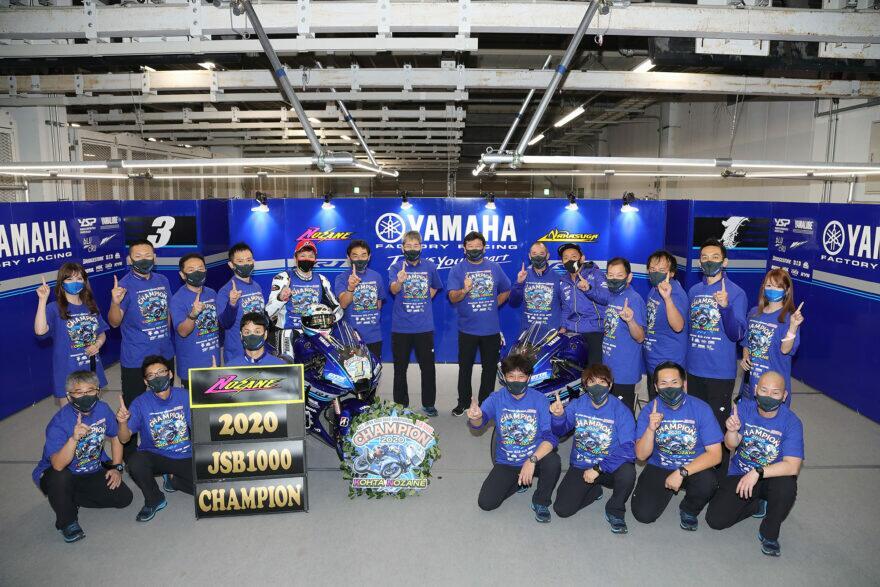 Тест-пилот Yamaha зачемпионил японский Супербайк