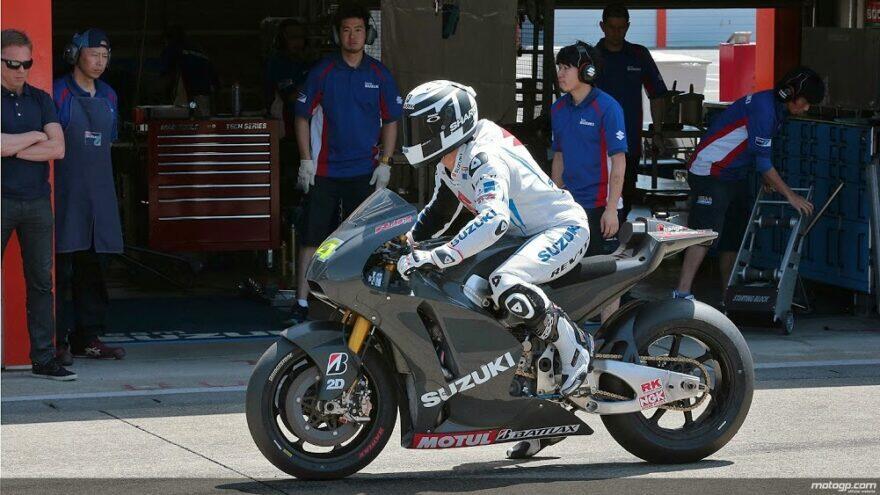 Бривио вспоминает, как Suzuki из ничего строила команду MotoGP