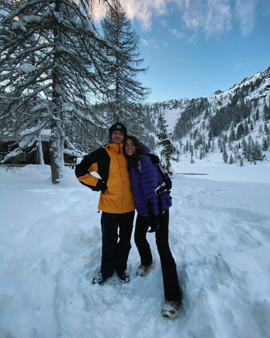 #фотоGP: Росси переводит дух в снегах Мадонны-ди-Кампильо