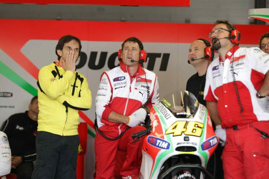 Алекс Бриггс в Ducati