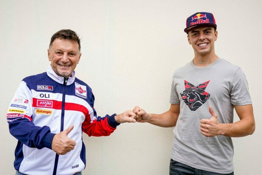 Ди Джанантонио отказал Aprilia, «чтобы победить в Moto2»