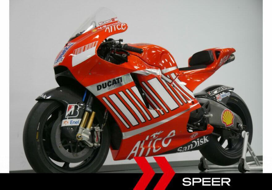 #фотоGP: Ducati GP8 Стоунера выставлен на продажу (приготовьте 449 000 евро)