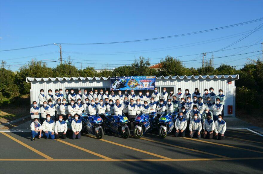 #фотоGP: 67 светлых голов Suzuki, которые сделали Мира чемпионом MotoGP