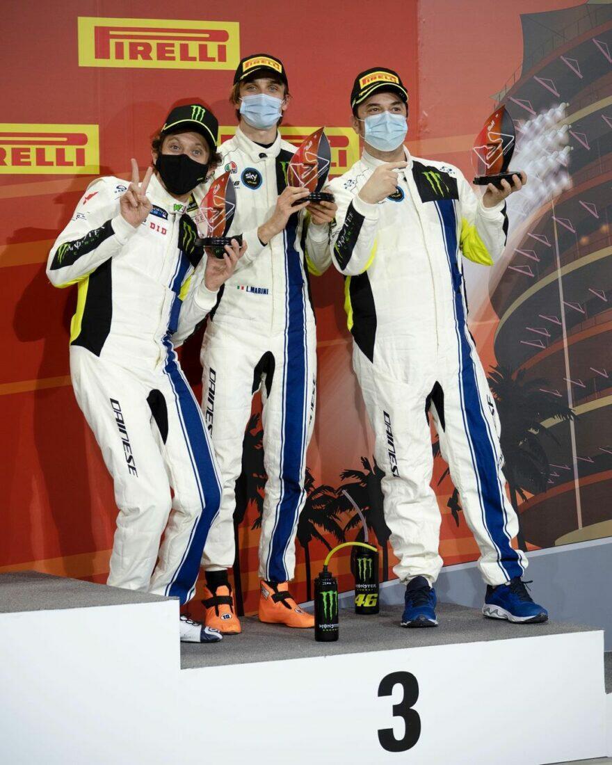 Спецотряд Росси закончил 4-м марафон Gulf 12 Hours Bahrain