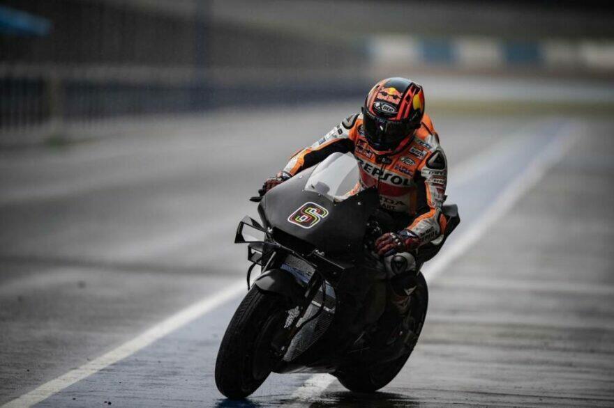 #фотоGP: этот байк вернёт «Хонде» Тройную корону MotoGP?