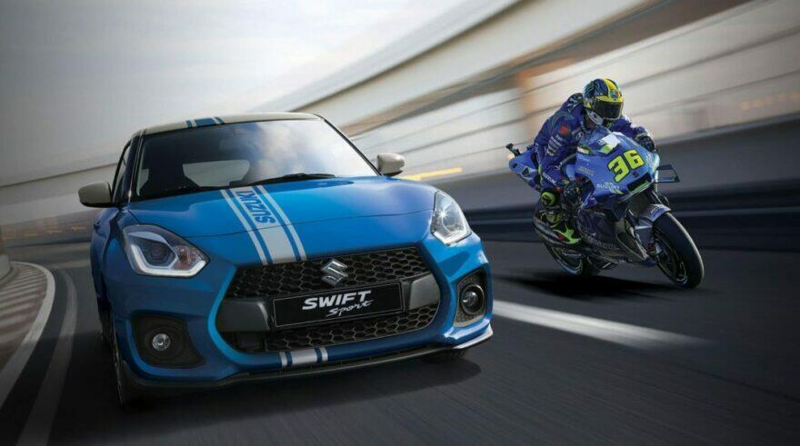 #фотоGP: так выглядит 4-колёсный восторг Suzuki от чемпиона Мира