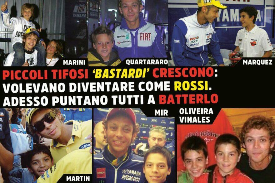 Валентино Росси и молодые соперники