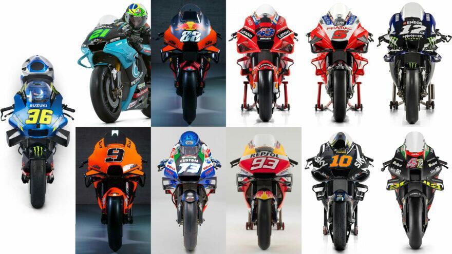 презентации MotoGP 2021