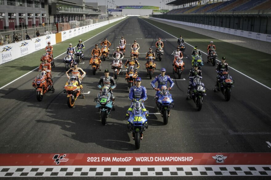 Гонщики MotoGP 2021