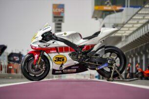Юбилейная ливрея Yamaha в честь 60 лет в Гран-При