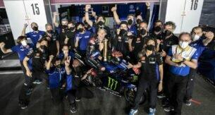 Фабио Квартараро и команда Yamaha